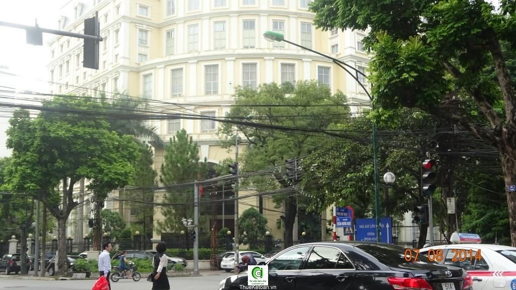 Trụ sở Bộ Tài Chính - hóa đơn gtgt