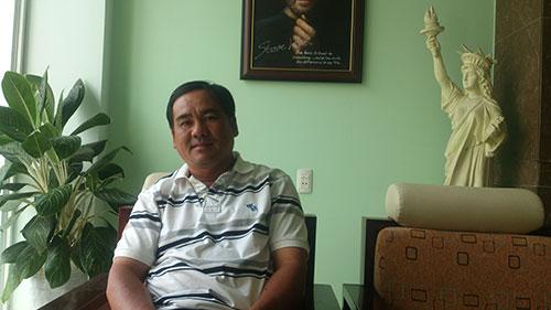 Nguyễn Văn Tùng - GĐ Công ty TNHH 1 MTV Tùng Gia Khang 1