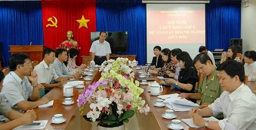 Ông Trương Văn Vở - P.Trưởng Đoàn Đại Biểu Quốc Hội