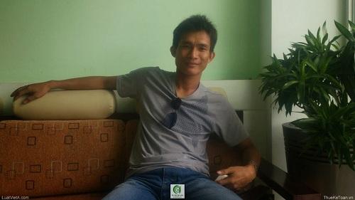 Anh Lâm Nàm Dưỡng giám đốc Công ty TNHH MTV Nghiệp Thịnh Phát