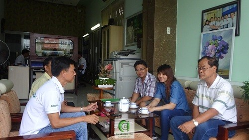 Mr.Lam Chu doanh nghiep Dai Loan