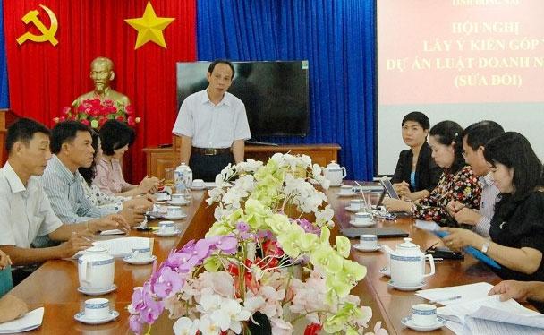 Luật Việt Á tham gia góp ý sửa đội Luật đầu tư